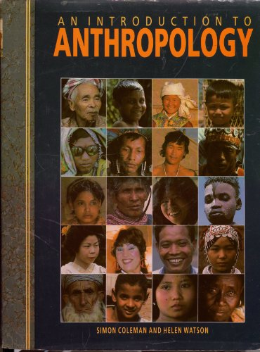 9781855012707: An Introduction to Anthropology
