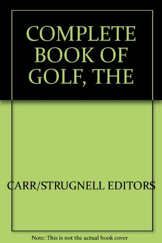 9781855015401: Complete Book of Golf, the
