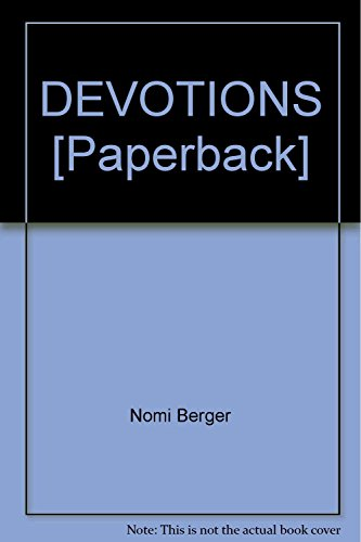 9781855017023: DEVOTIONS [Paperback]