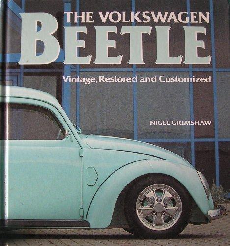 9781855018518: Volkswagen Beetle Vintage Restored