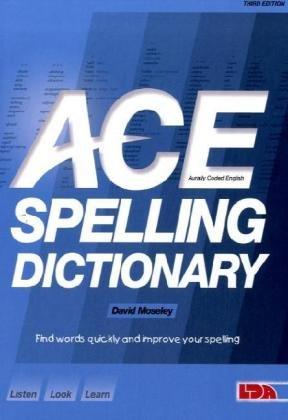 9781855034785: Ace Spelling Dictionary