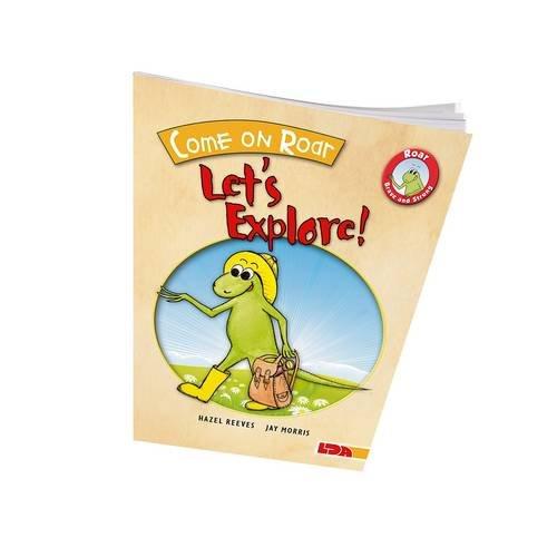 9781855035256: Come on Roar, Let's Explore! (Roar, Little Dinosaur)