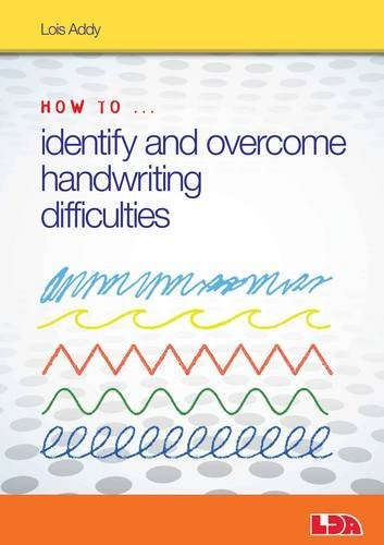 9781855036024: How to Identify and Overcome Handwriting Difficulties