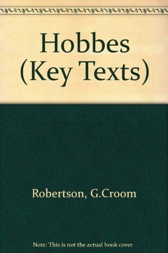 9781855062160: Hobbes (Key Texts)