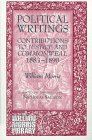 9781855062528: Political Writings: Contributions to Justice and Commonweal 1883-1890