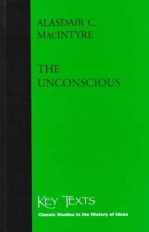 9781855065208: The Unconscious: A Conceptual Analysis (Key Texts)