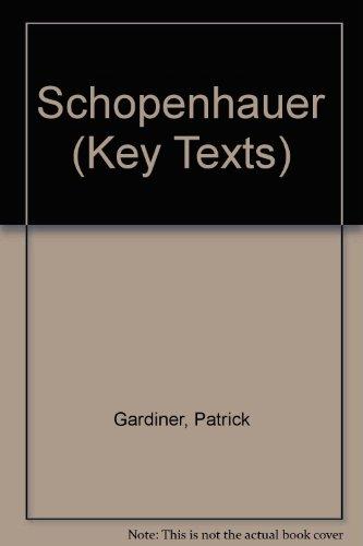 9781855065253: Schopenhauer (Key Texts)