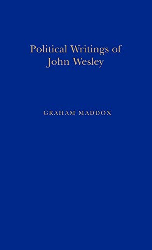 9781855065543: Politic Writings John Wesley (Primary Sources in Political Thought)
