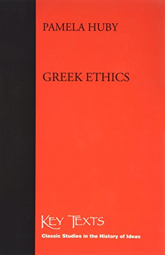 9781855065635: Greek Ethics (Key Texts)