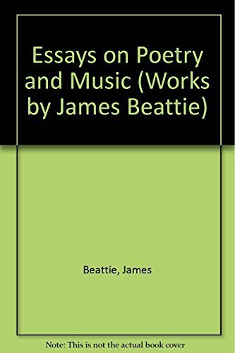 Essays on Poetry and Music: Beattie, James & Roger J. Robinson