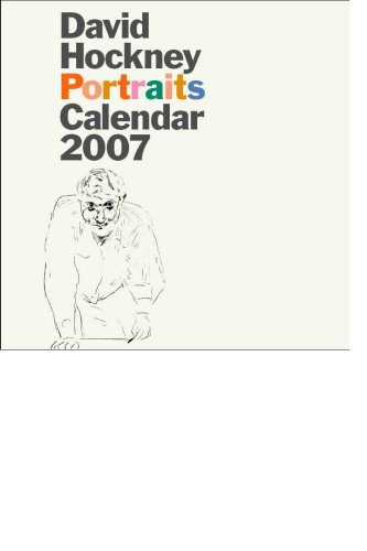 9781855143821: David Hockney Portraits Calendar 2007