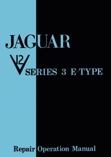 Jaguar E Type V12 Series 3 Workshop Manual (Paperback)