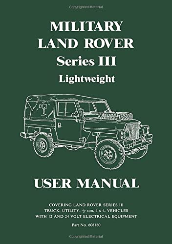 9781855200159: Land Rover Series 3 Military Lightweight Handbook (Official Handbooks)