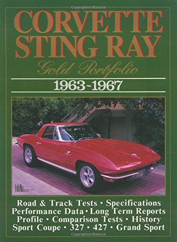 Corvette Stingray 1963-1967 (Brooklands Books Road Tests Series): Clarke, R. M.