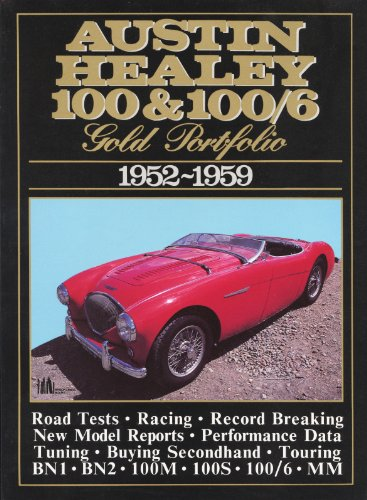 Austin Healey 100 and 100/6 Gold Portfolio,