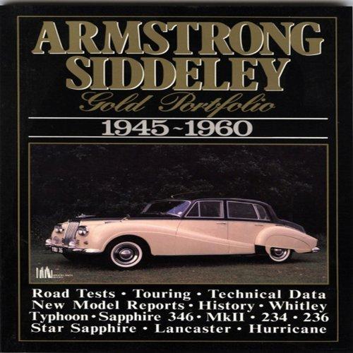 9781855200692: Armstrong Siddeley: Gold Portfolio 1945-1960