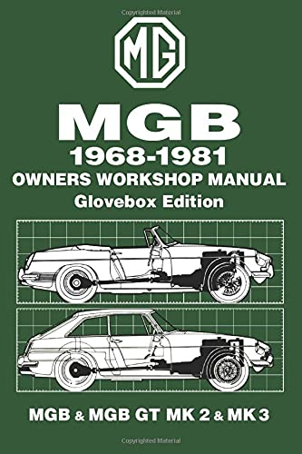 MGB Glove Box 1968-81 Workshop Manual: Brooklands Books Ltd