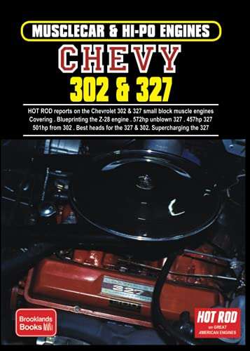 9781855200975: Musclecar & Hi Po Chevy 302 & 327: Chevrolet Restoration / Performance / Engines