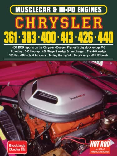 9781855201033: Chrysler 361/383/400/413/426/440 Hi-Po (Musclecar and Hi-Po Engine Series)