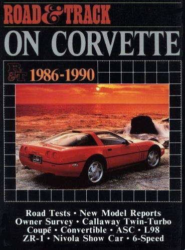 9781855201170: Road and Track on Corvette: Corvette, 1986-90 (Brooklands Books)