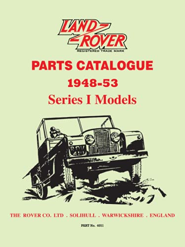 Land Rover Parts Catalog Ser 1 1948-53 (Official Parts Catalogue) (1855201194) by Brooklands Books Ltd