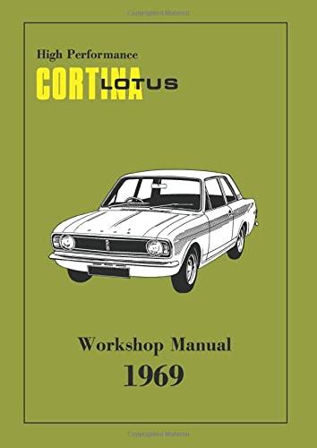 High Perf Lotus Cortina WSM (Official Workshop Manuals): Brooklands Books Ltd