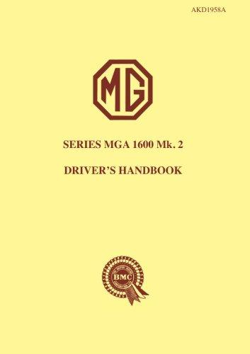 9781855201675: MG MGA 1600 Mk2: Owners' Handbook