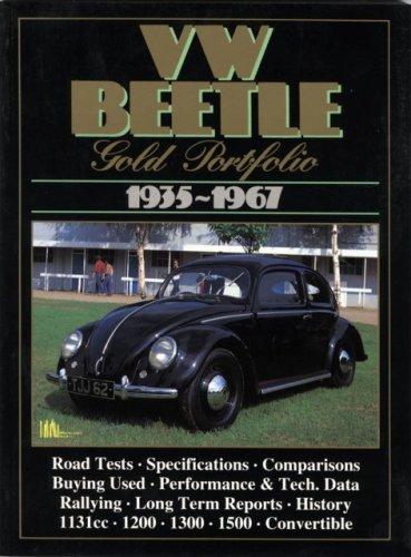 9781855201910: VW Beetle, 1935-1967 GP (Gold Portfolio)