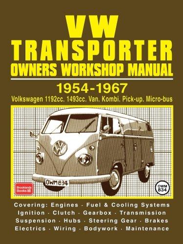 9781855201972: VW Transporter Owner's Workshop Manual 1954-1967