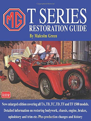 9781855202115: MG T Series Restoration Guide (Restoration Performance)