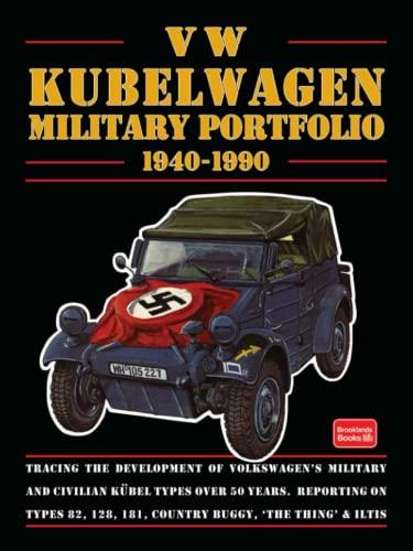 9781855202184: VW Kubelwagen: Military Portfolio 1940-1990 (Brooklands Books)