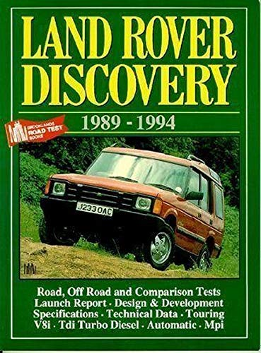 Land Rover Discovery, 1989-1994 (Brooklands Books Road Tests Series)