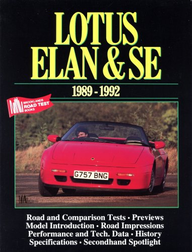 9781855202320: Lotus Elan and SE, 1990-92 (Brooklands Books Road Tests Series)