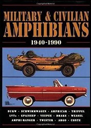 9781855202511: Military & Civilian Amphibians 1940-90 (Brooklands Books)