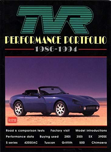 9781855202603: TVR Performance Portfolio 1986-94