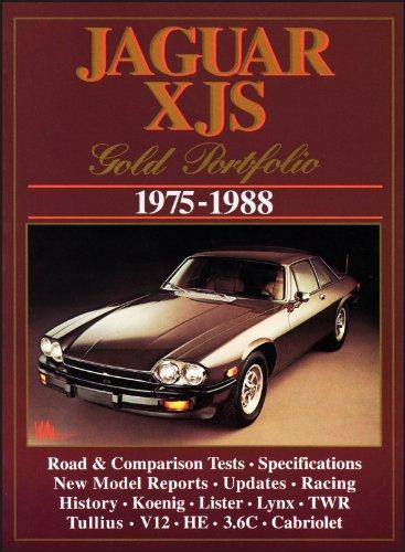 9781855202719: Jaguar XJS Gold Portfolio 1975-1988