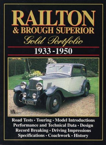 Railton and Brough Superior Gold Portfolio, 1933-50: Clarke, R