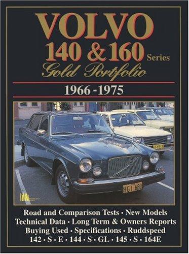 9781855203280: Volvo 140 & 160: Gold Portfolio 1966-1975