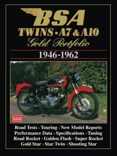 9781855203365: BSA Twins A7 & A10: 1946-1962 (Gold Portfolio)