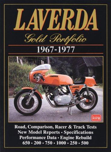 Laverda Gold Portfolio 1967-1977 (Road Test Motorcycle): Clarke, R. M.