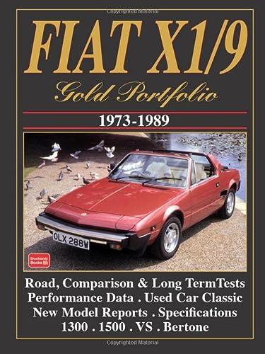 9781855203563: Fiat X1/9 Gold Portfolio 1973-1989 (Gold portfolio series)