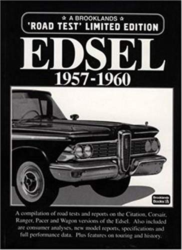 9781855203655: Edsel 1957-1960 Road Test Limited Edition