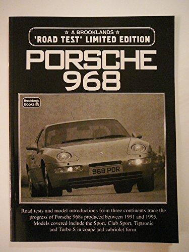 Porsche 968 Road Test: R.M. Clarke