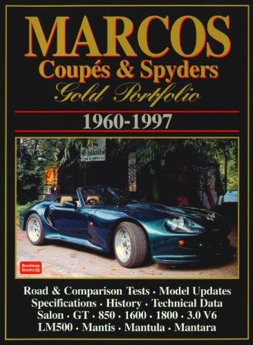 Marcos Coupes & Spyders Gold Portfolio 1960-97: Clarke, R.M.
