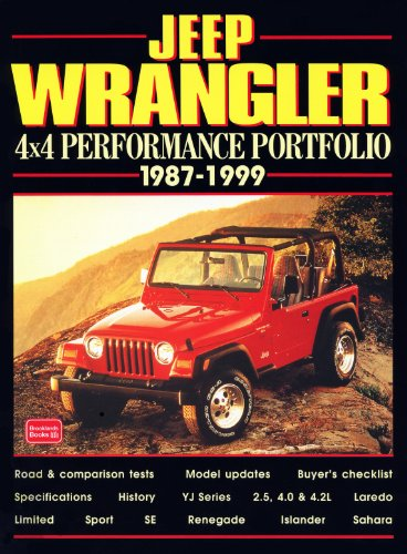 9781855204171: Jeep Wrangler: 4x4 Performance Portfolio 1987-1999