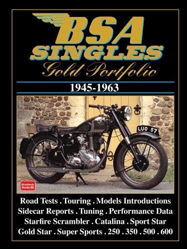 BSA Singles 1945-63 Gold Portfolio: Clarke, R.M.