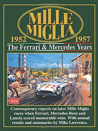 Mille Miglia 1952-1957: The Ferrari and Mercedes: Clarke, R.M.