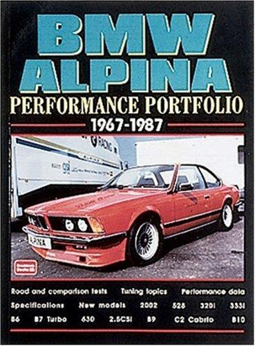 9781855204911: BMW Alpina 1967-87 Performance Portfolio