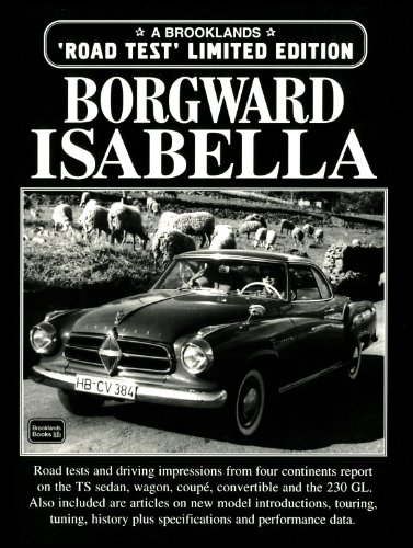 9781855204935: Borgward Isabella (Brooklands Road Test Limited Editions)