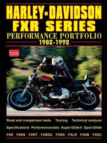 9781855204966: Harley-Davidson FXR Series: Performance Portfolio 1982-1992